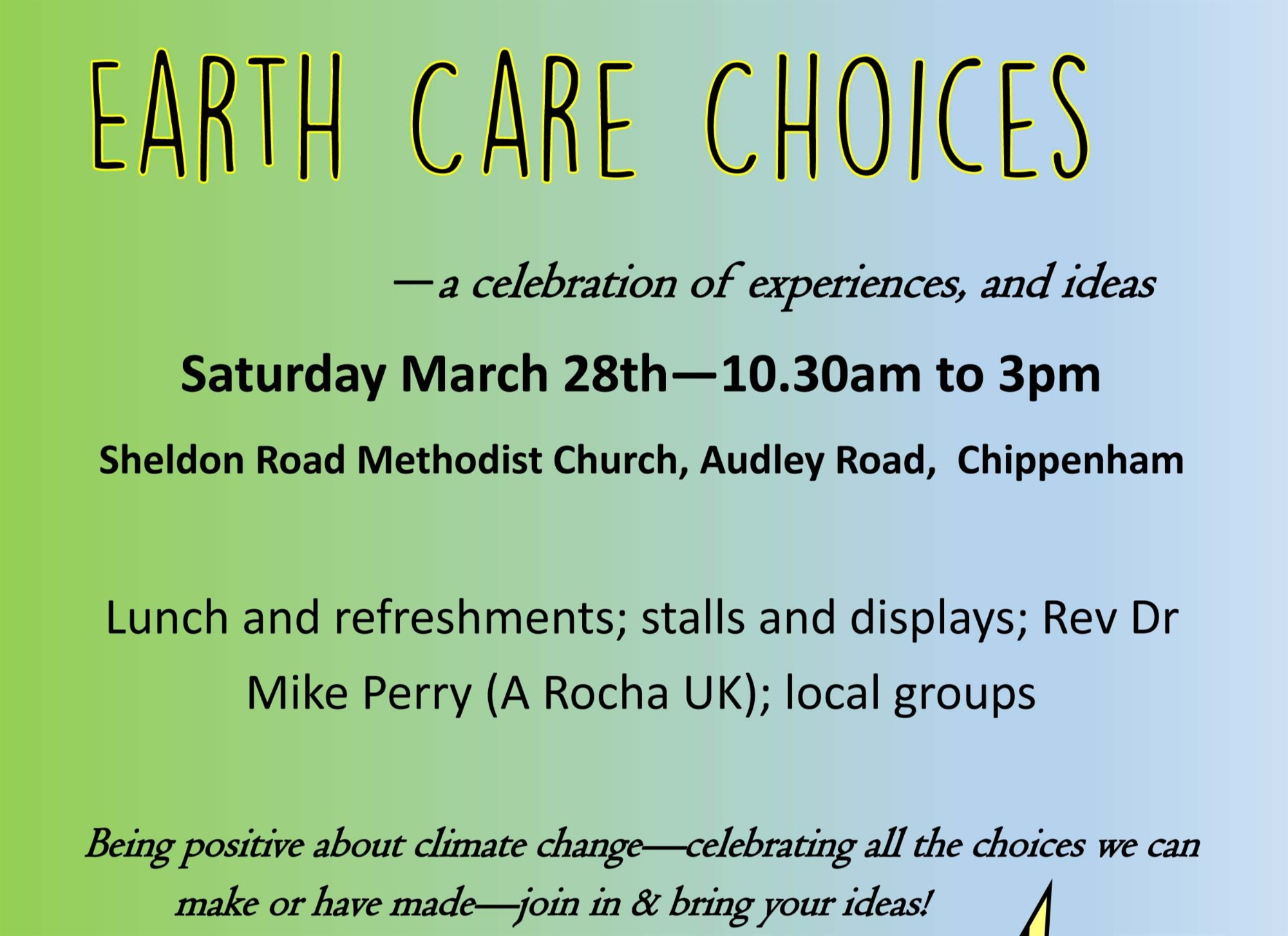 008 Earth Care Choices poster